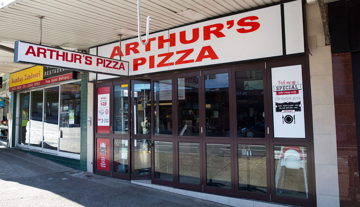 Arthur's Pizza Randwick